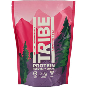 TRIBE Protein Shake Pouch 500g, raspberry/goji